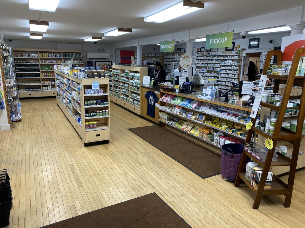 Inside of Village Apothecary's Upstate NY-based Pharmacy